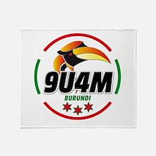 9u4m logo Throw Blanket