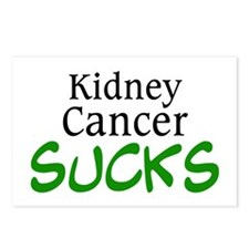 Kidney Cancer Sucks Postcards (Package of 8)