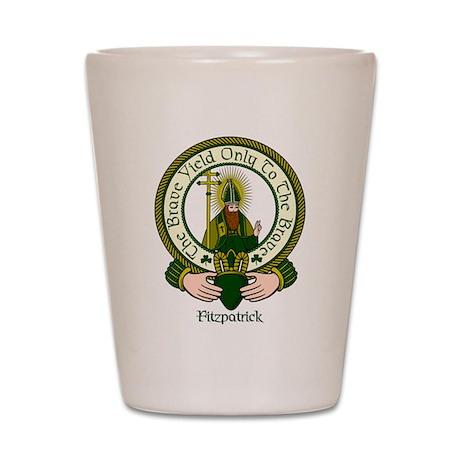 Fitzpatrick Clan Motto Shot Glass