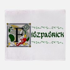 Fitzpatrick Celtic Dragon Throw Blanket