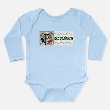 Fitzpatrick Celtic Dragon Long Sleeve Infant Bodys