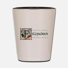 Fitzpatrick Celtic Dragon Shot Glass
