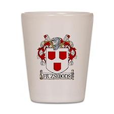 Fitzsimons Coat of Arms Shot Glass