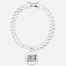Girl Interrupted 2 Hodgkin's Lymphoma Bracelet