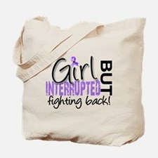Girl Interrupted 2 Hodgkin's Lymphoma Tote Bag