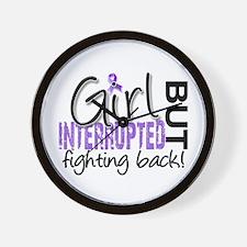 Girl Interrupted 2 Hodgkin's Lymphoma Wall Clock