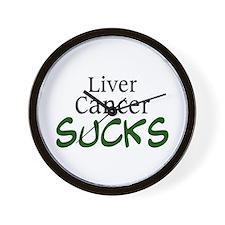 Liver Cancer Sucks Wall Clock