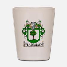 Flanagan Coat of Arms Shot Glass