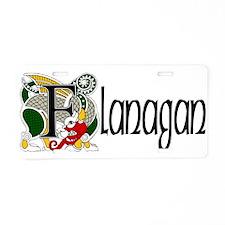 Flanagan Celtic Dragon Aluminum License Plate