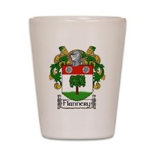 Flannery Coat of Arms Shot Glass