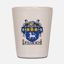 Flynn Coat of Arms Shot Glass