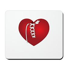 Mended Heart Mousepad
