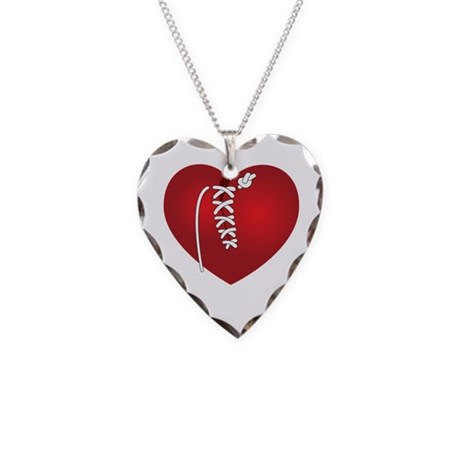Mended Heart Necklace Heart Charm
