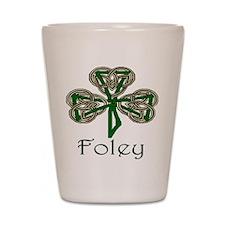 Foley Shamrock Shot Glass