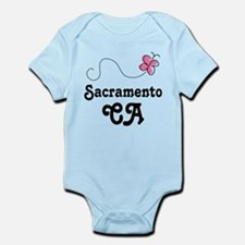 Pretty Sacramento California Infant Bodysuit
