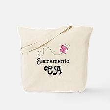 Pretty Sacramento California Tote Bag