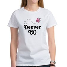 Pretty Denver Colorado Tee