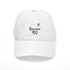Pretty Denver Colorado Baseball Cap