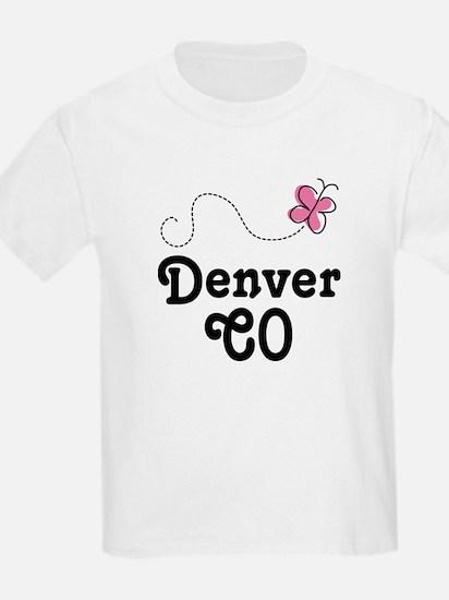 Pretty Denver Colorado T-Shirt