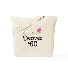 Pretty Denver Colorado Tote Bag