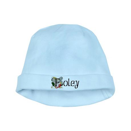 Foley Celtic Dragon baby hat