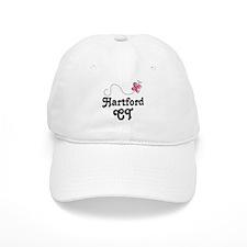 Pretty Hardford Connecticut Baseball Cap
