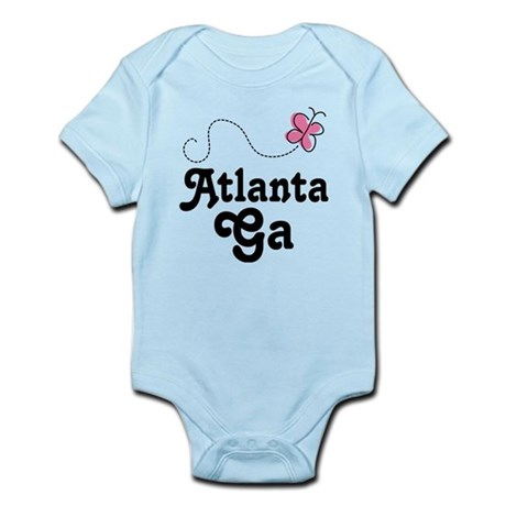 Pretty Atlanta Georgia Infant Bodysuit