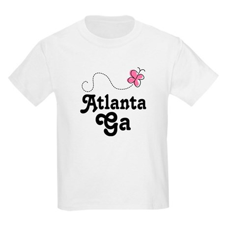 Pretty Atlanta Georgia Kids Light T-Shirt