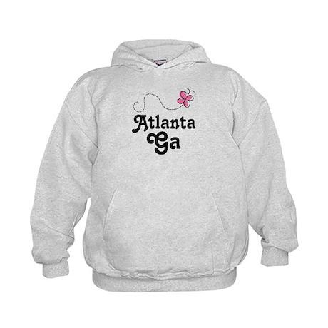 Pretty Atlanta Georgia Kids Hoodie