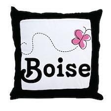 Pretty Boise Idaho Throw Pillow