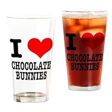 I Heart (Love) Chocolate Bunn Pint Glass