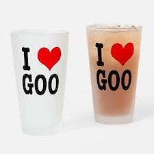 I Heart (Love) Goo Pint Glass