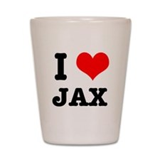I Heart (Love) Jax Shot Glass