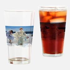 Alma Tadema Ask Me No More Drinking Glass