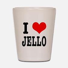 I Heart (Love) Jello Shot Glass