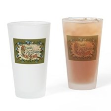 Vintage New Year's Eve Pint Glass