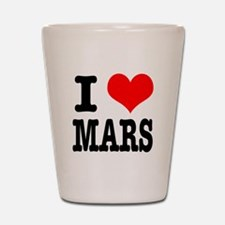 I Heart (Love) Mars Shot Glass