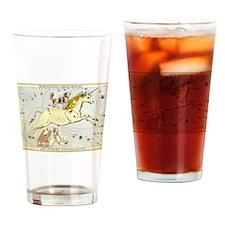 Vintage Unicorn Constellation Drinking Glass