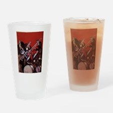 Vintage Music, Art Deco Jazz Drinking Glass