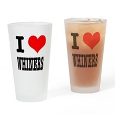 I Heart (Love) Whiners Pint Glass