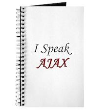 """I Speak AJAX"" Journal"