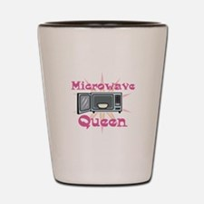 Microwave Queen Shot Glass