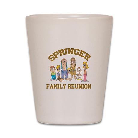 Springer Hillbilly Family Reu Shot Glass