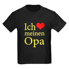 I Love Grandpa (German) T