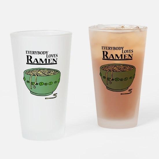 Everybody loves Ramen Pint Glass