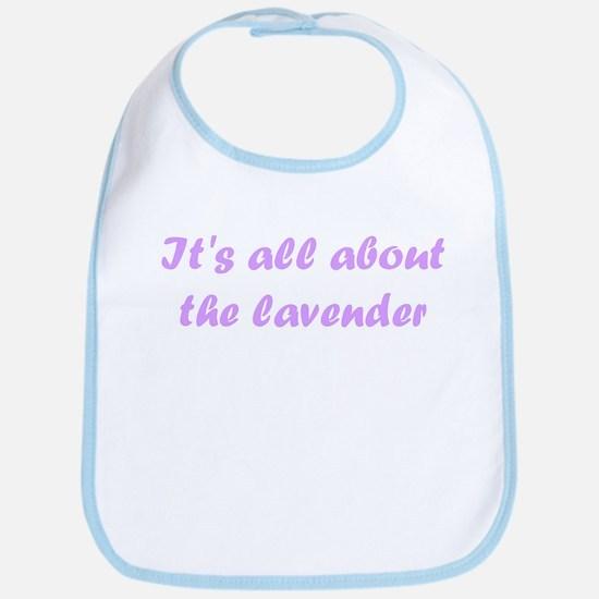 lavender Bib