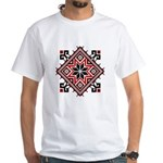 Folk Design 7 White T-Shirt