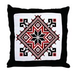 Folk Design 7 Throw Pillow