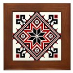 Folk Design 7 Framed Tile