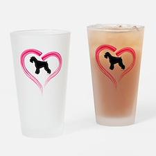 Heart My Schnauzer Natural Ea Pint Glass
